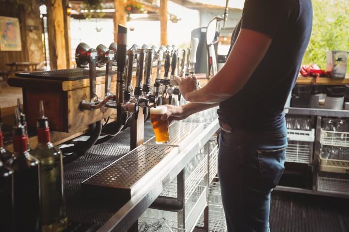 The best looking Barman inEdinburgh