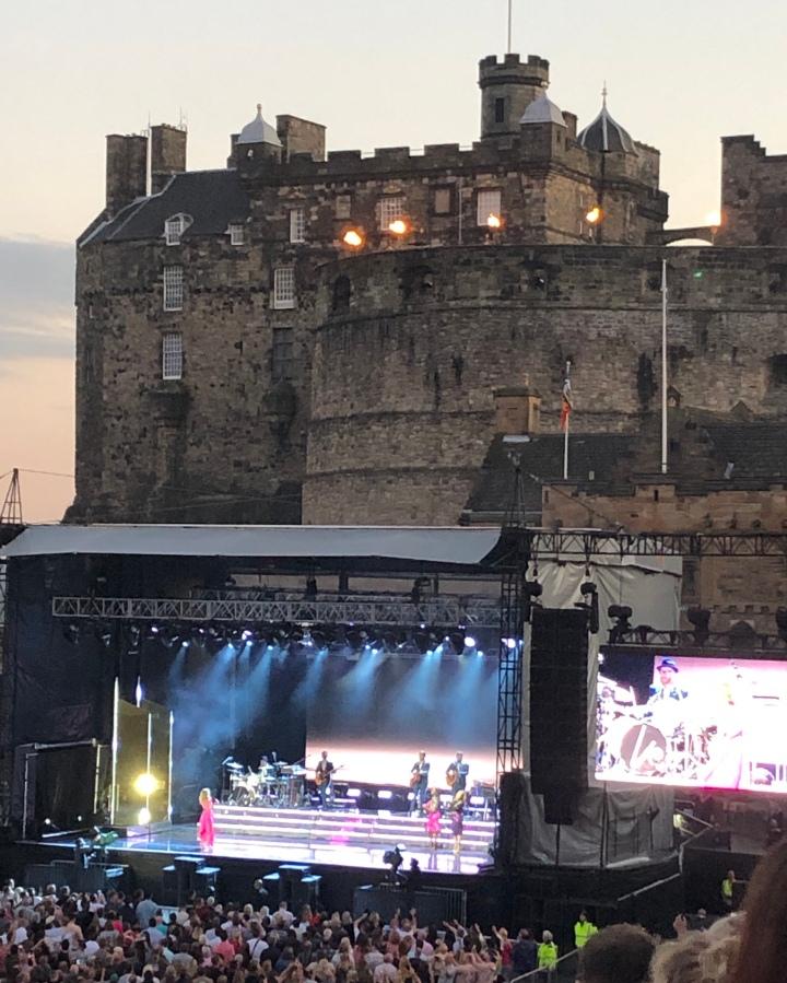 Kylie Minogue: EdinburghCastle