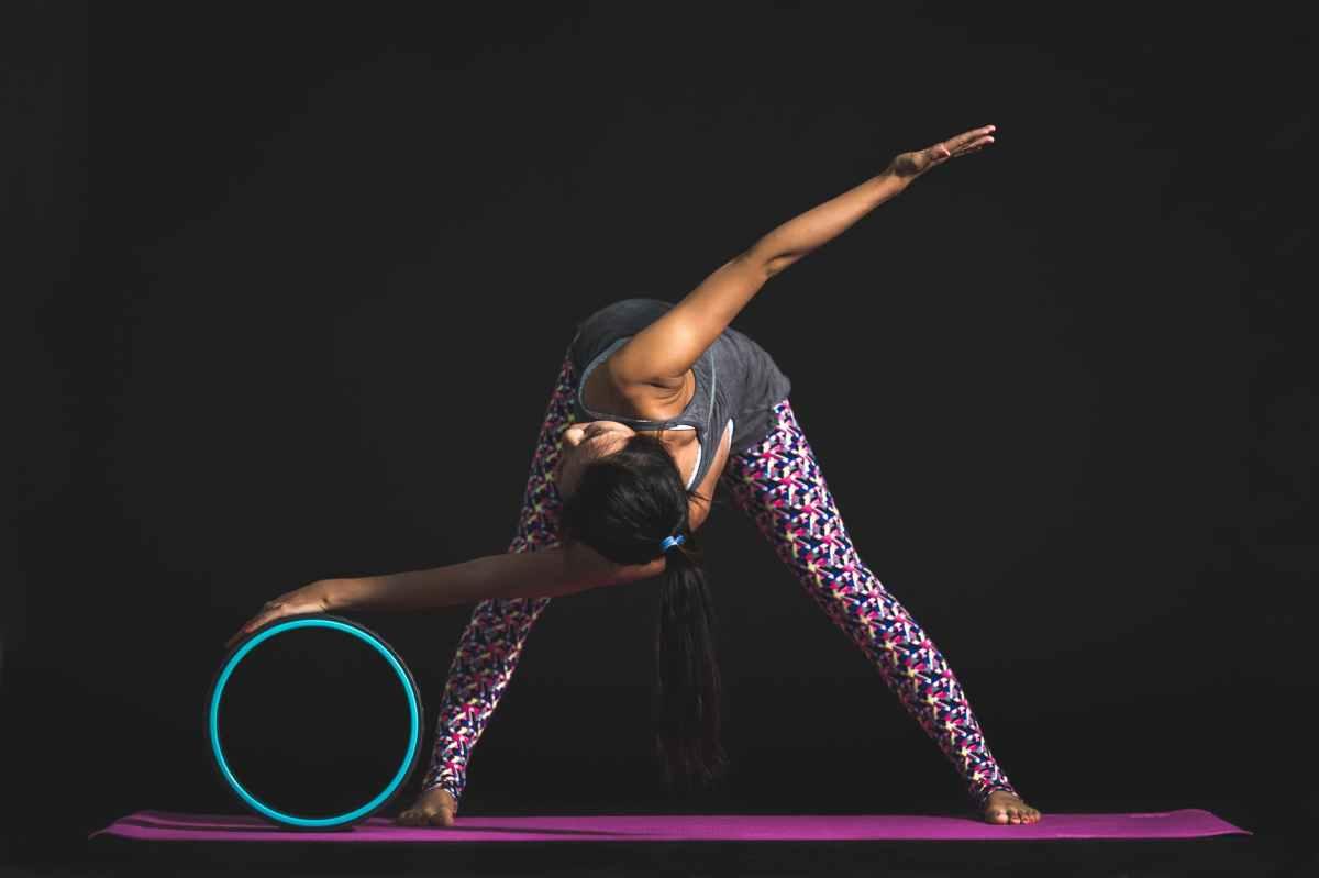 Yoga Wheel: my new yogatoy