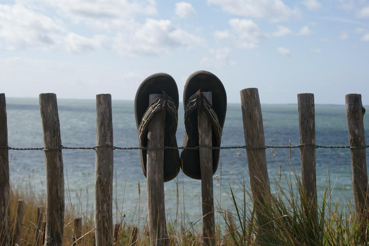 My flip flops haveshrunk!