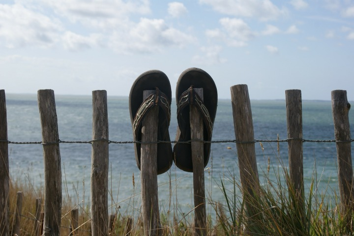 My flip flops have shrunk!