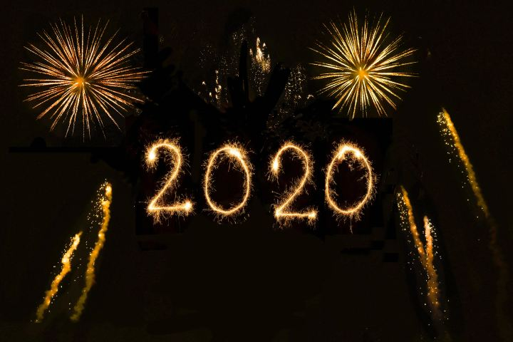 The year 2020 in fireworks