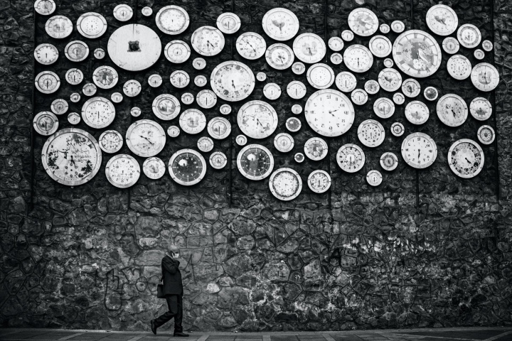 Clocks on a wall: why?